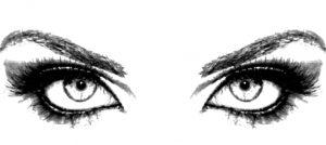 Wimpern und Augenbrauen färben und formen