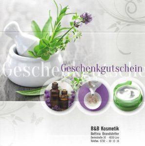 B&B Kosmetik Gutschein